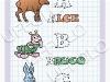 ripassa-tutte-le-lettere-dellalfabeto-tratteggiate-e-completa-la-coloritura-alce-bruco-coniglio