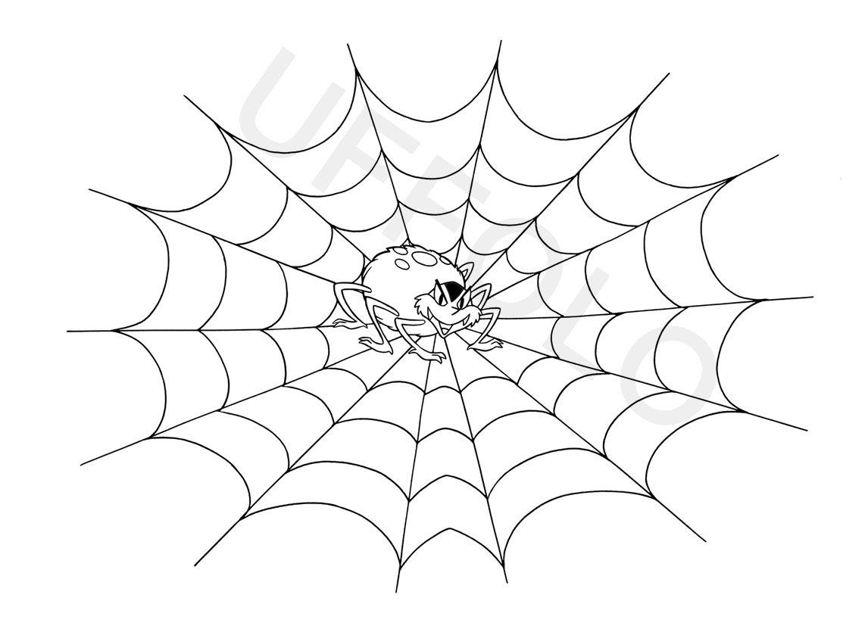 Disegni di halloween uffolo - Immagini del ragno da stampare ...