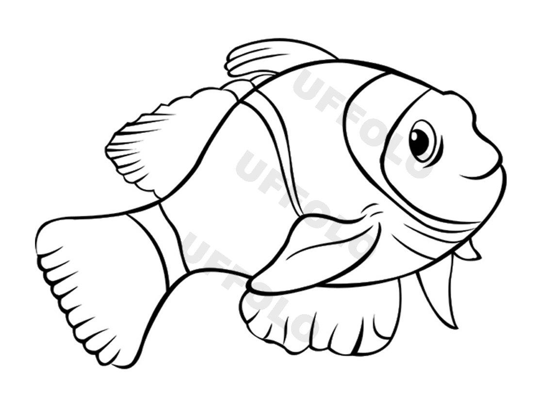 Coloriamo i pesci uffolo for Immagini pesce pagliaccio