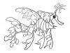 pesce-dragone-foglia