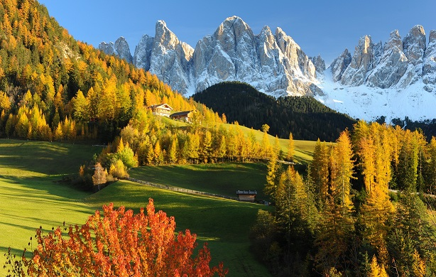 Passeggiare in montagna