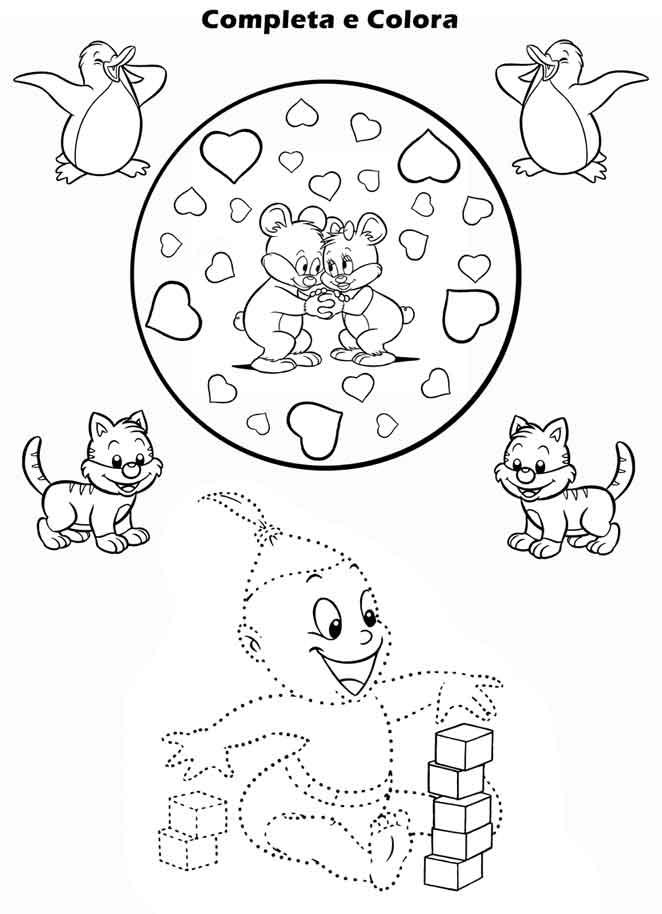 Gioco Da Colorare Per Bambini.Giochi Per Bambini E Disegni Da Stampare Uffolo
