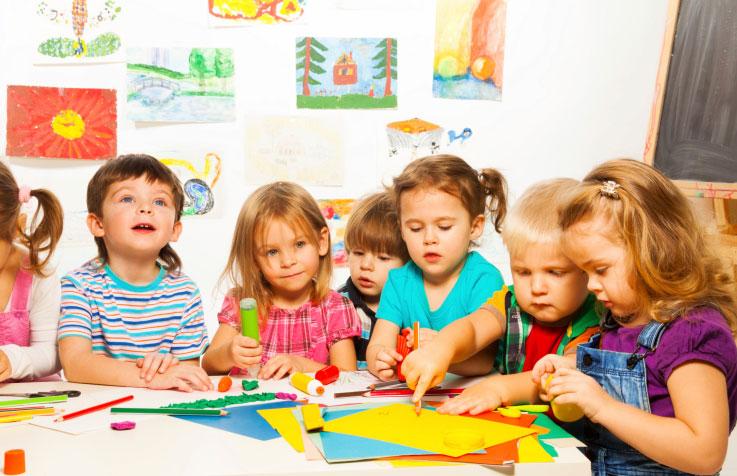 la scuola per bambini