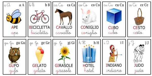 Alfabeto Per Bambini Giochi E Schede Didattiche Uffolo