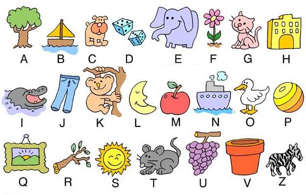 alfabeto per bambini
