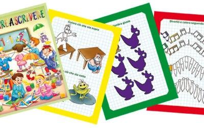 Lettere e numeri per bambini 4-5 anni